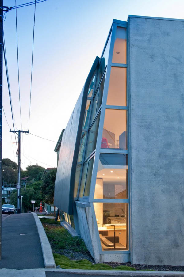 Simon Twose Concrete House 2 Bold concrete and glass residential architecture by Simon Twose