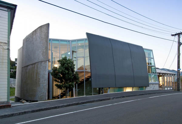 Bold Concrete And Glass Residential Architecture By Simon