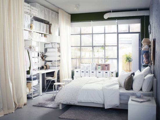 Small bedrooms storage solutions and decoration inspiration for Tiny apartment storage ideas