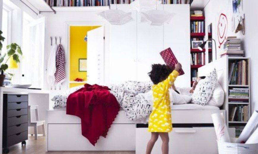. Small Bedrooms Storage Solutions and Decoration Inspiration