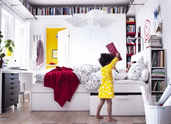 Small Bedrooms Storage Solutions
