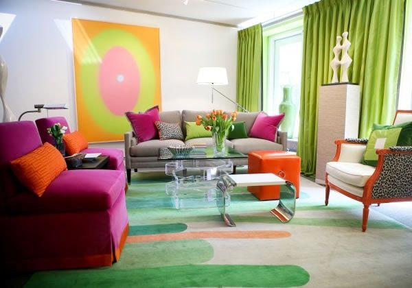 Tangerine Tango Contemporary Home Decor