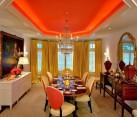 Tangerine Tango Dining Room