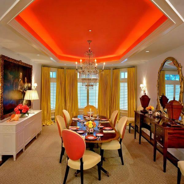Tangerine-Tango-Dining-Room