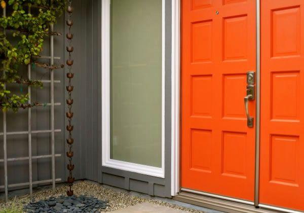 Tangerine Tango Doors
