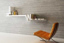 Target Book Shelf by Mebrure Oral Features Typographical Organizing