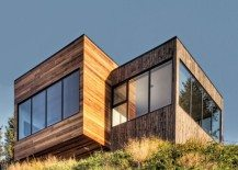 Magnificent Malbaie V Le Phare Project in Canada is a Unique Hillside Home