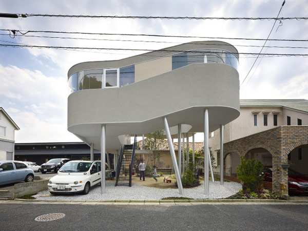 Toda House 1 Toda House in Hiroshima Looks like a Bird's Nest