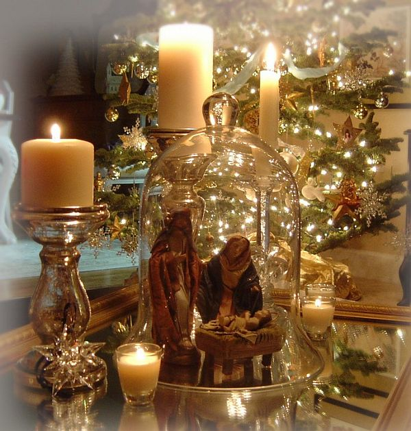Elegant Christmas Decor On Pinterest