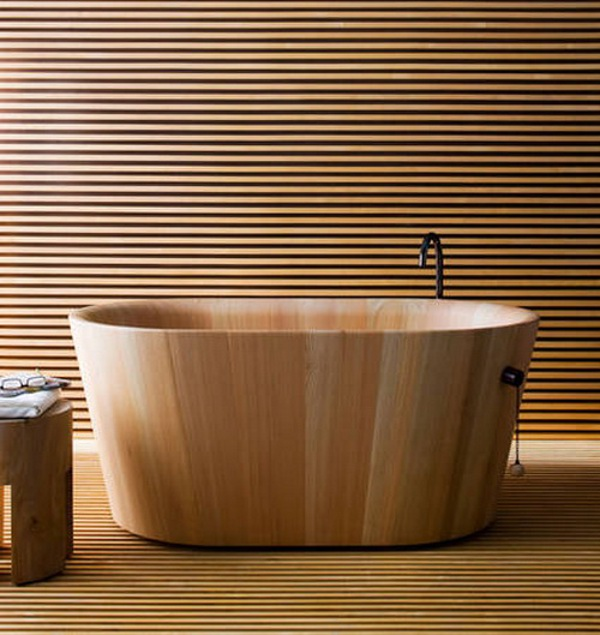 Traditional Japanese Tub by Mattheo Thun