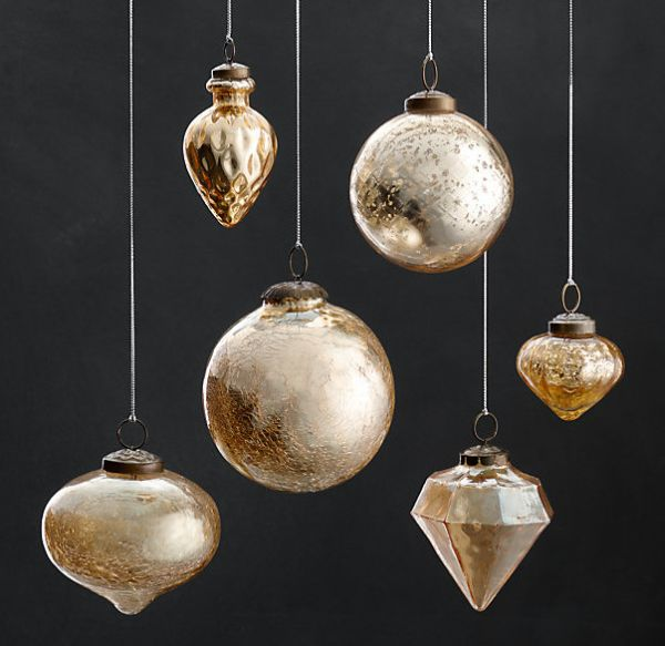 view in gallery vintage hand blown glass ornaments - Blown Glass Christmas Ornaments