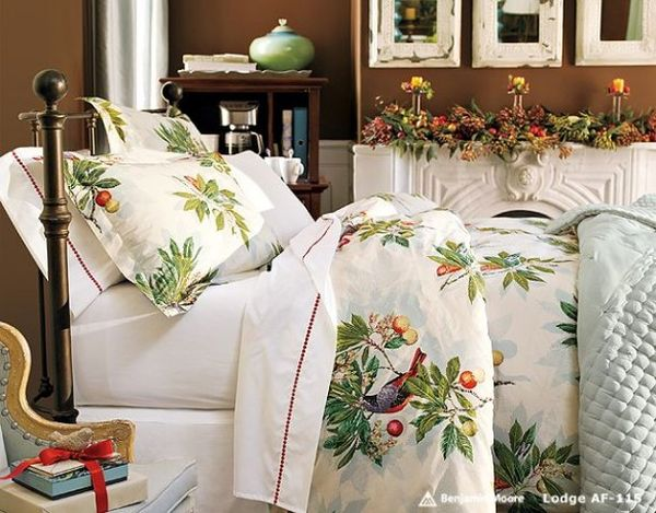 Most Beautifull Deco Paint Complete Bed Set: Christmas Themed Bedding For A Cozy Bedroom