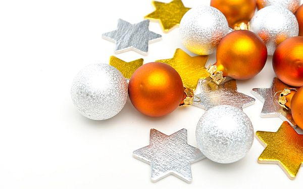 view in gallery - Yellow Christmas Decorations