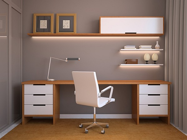 Clutter-free home office design