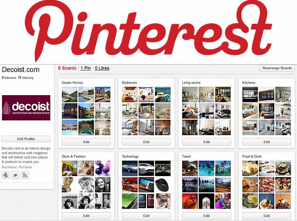 decoist pinterest Follow Decoist Now on Pinterest