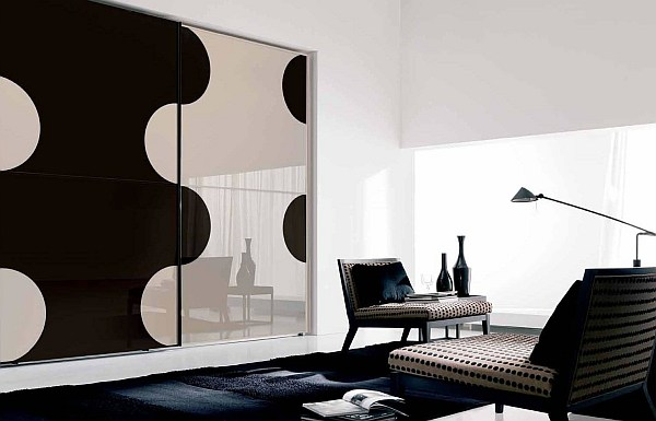 Beautiful modern wardrobe