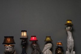 Animal Lamps by Atelier Abigail Ahern 1
