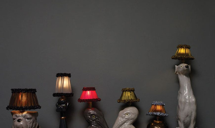 Animal Inspired Lamps Exude Glamor