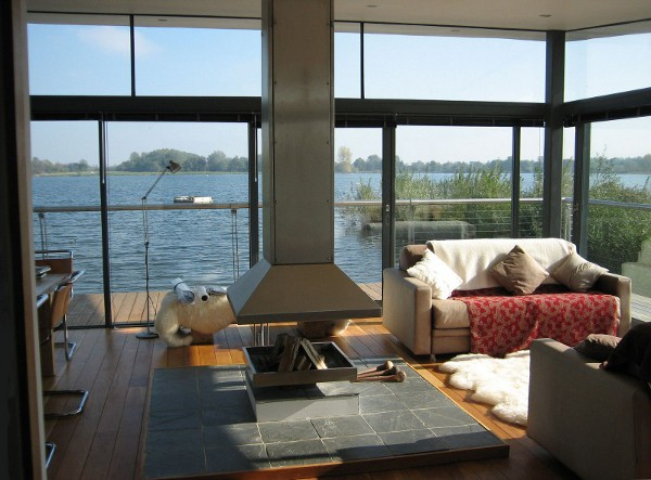 Boathouse by AR Design Studio 7 Boathouse Project is Worth Living In