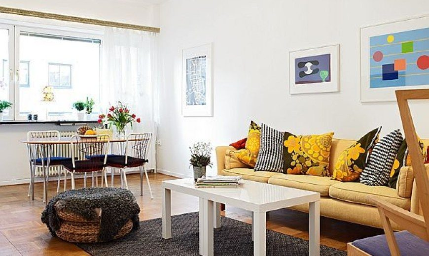 Bright & Cozy 56sqm Apartment With Lovely Patio in Gothenburg