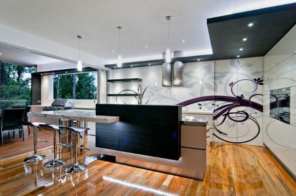 Bushland Retreat Designer Kitchen 1 Marvellous Designer Kitchen Boasts Many Zones