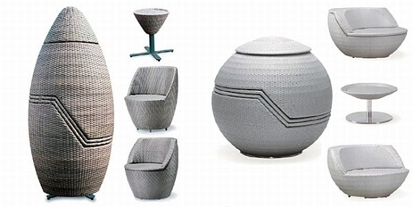Capsule & Golf Stacking Furniture