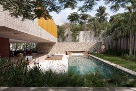 Casa dos Ipês Project in Brazil Features Open Design