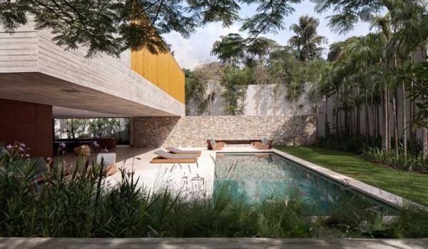 Casa dos Ipês Project in Brazil 11 Casa dos Ipês Project in Brazil Features Open Design