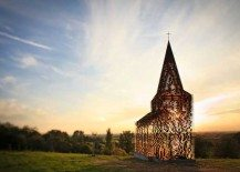 Disappearing church-going rituals captured in a Transparent Church