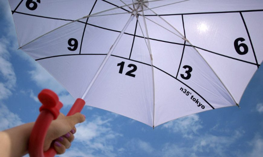 Clock-Parasol is Extraordinary to the Core