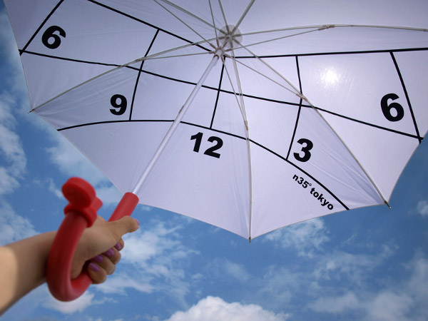 Clock Parasol by Kota Nezu 1 Clock Parasol is Extraordinary to the Core