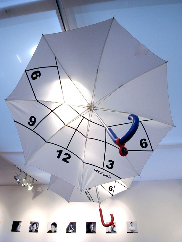 Clock Parasol by Kota Nezu 2 Clock Parasol is Extraordinary to the Core