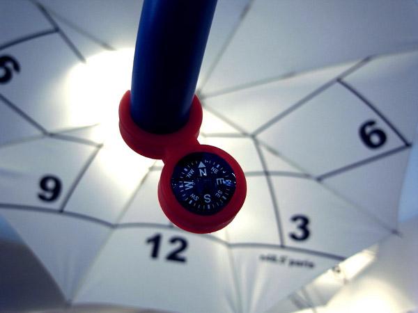 Clock-Parasol by Kota Nezu 3