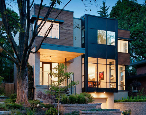 Contemporary Fraser Residence in Westboro Village 1