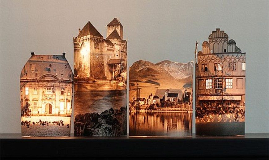 DIY Photo Lamps: Awesome Lit Up Buildings of Choice
