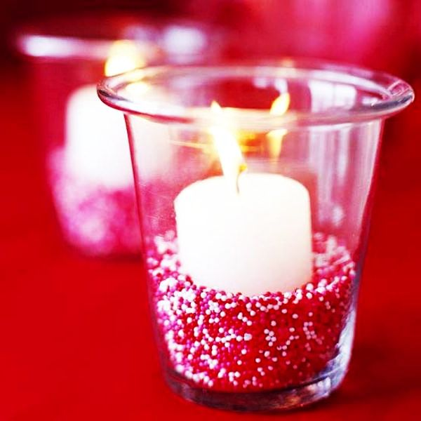 DIY Valentines Day Candle