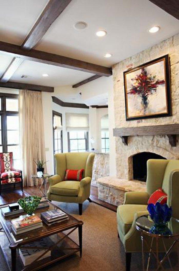 Emily Johnston Larkin's North Dallas home 2