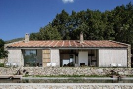 Sober Finca en Extremadura is a Sustainable Family Home
