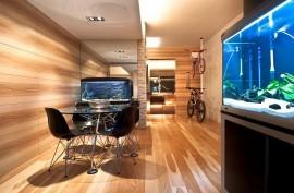 Hong Kong Wooden Apartment Decoration 1