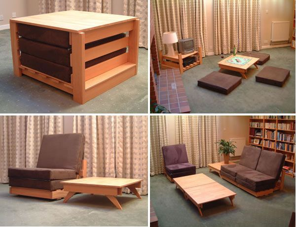 KEWB Multi-Functional Living Room Set