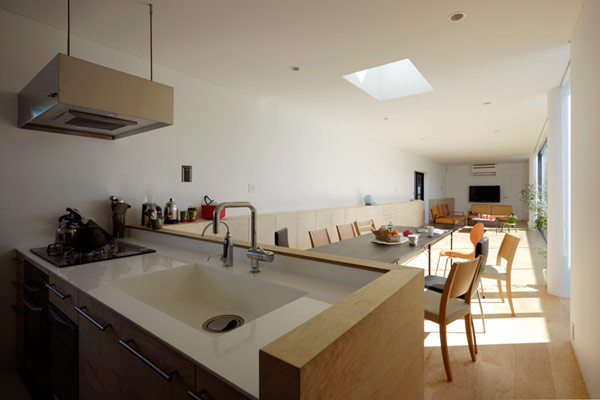 Double functionality for a family house