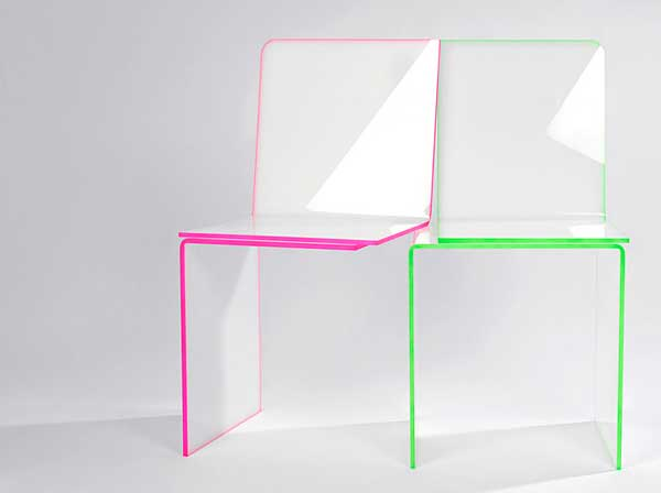 Konstantinos Pamporis One and One Chair Deceiving One and One Chair by Konstantinos Pamporis