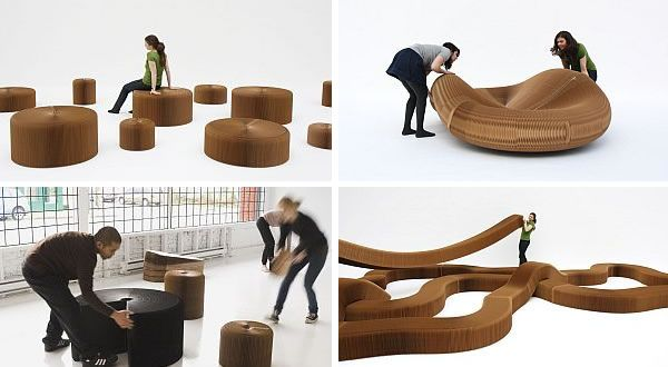 Kraft Paper SoftSeating