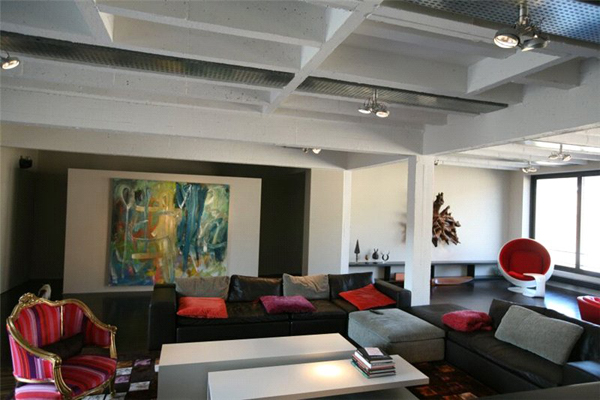 Loft style apartment in Brussels 2 Three level loft style apartment in Brussels with amazing features