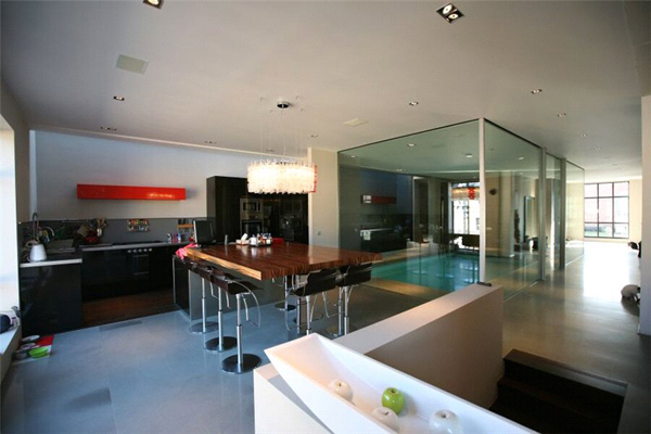 Loft style apartment in Brussels (4)