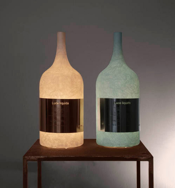 Unusual Table Lamps luce liquida lighting is unique and eccentric