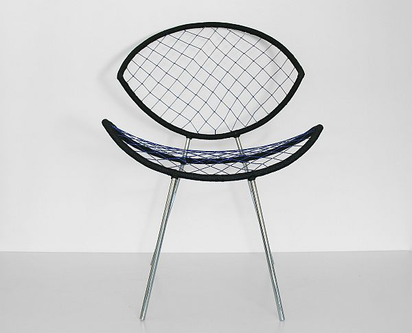 Modern FISHNET Armchair Fishnet Chair by Karre Has Timeless Design