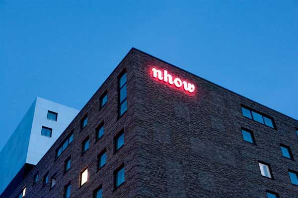 NHow Hotel in Berlin 2 Stunning NHow Hotel in Berlin overlooking the Molecule Man