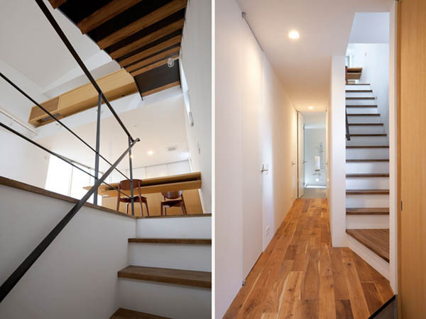 Narrow Japanese home with voluminous interiors 3