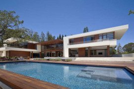 Family home in Silicon Valley: OZ House by Swatt and Miers Architects